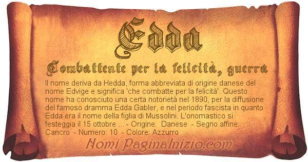 Nome Edda