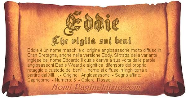 Nome Eddie