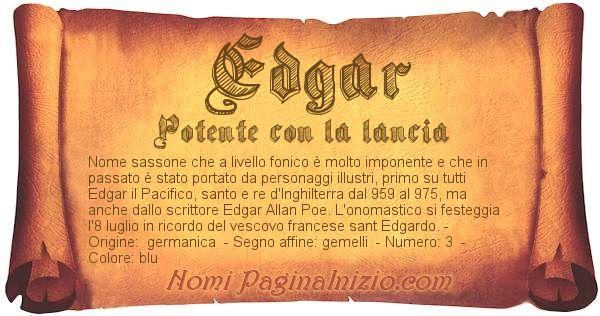 Nome Edgar