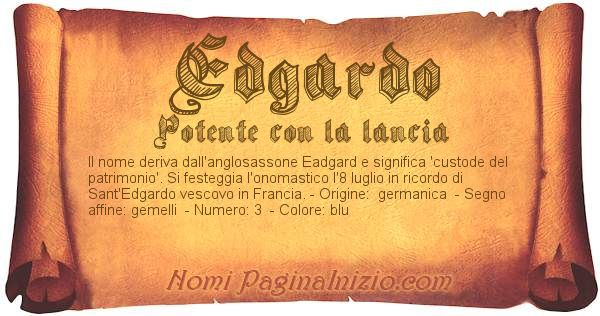 Nome Edgardo
