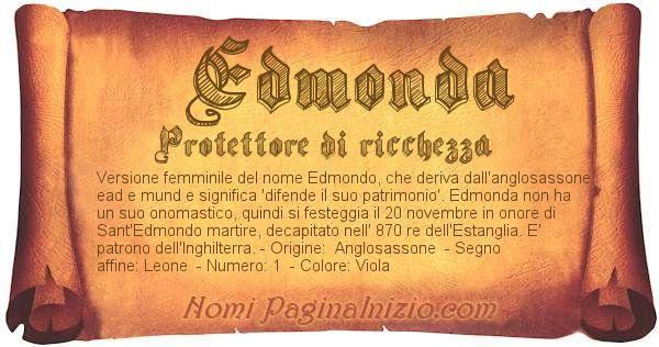 Nome Edmonda