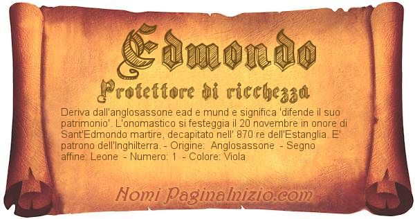 Nome Edmondo