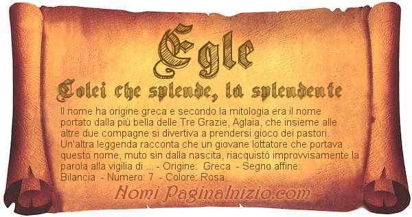 Nome Egle