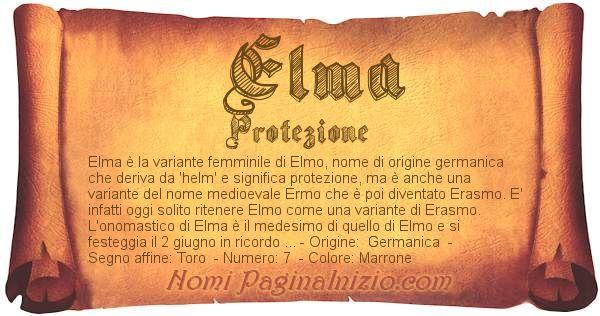 Nome Elma