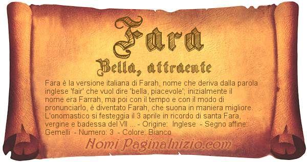 Nome Fara