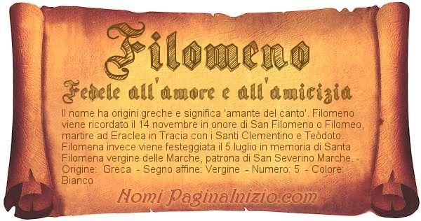 Nome Filomeno