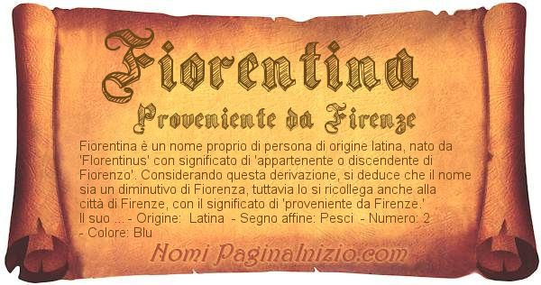 Nome Fiorentina