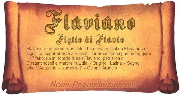 Nome Flaviano