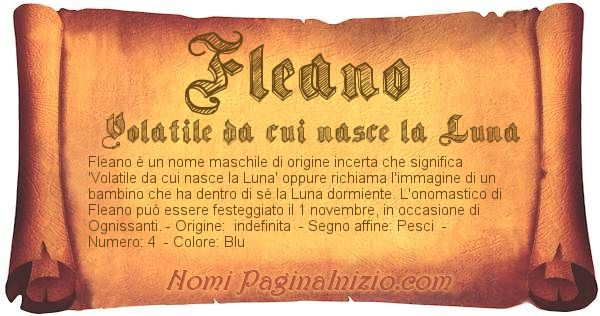 Nome Fleano