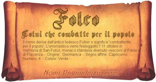 Nome Folco