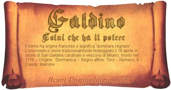 Nome Galdino