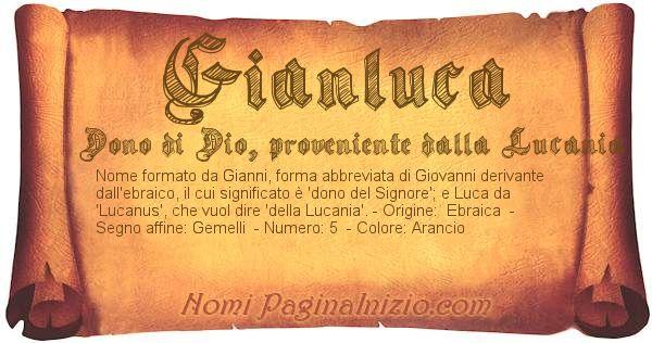 Nome Gianluca