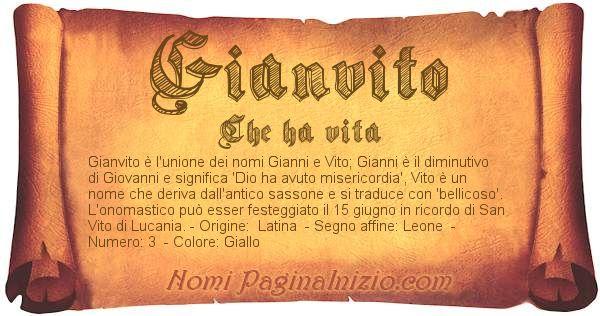 Nome Gianvito