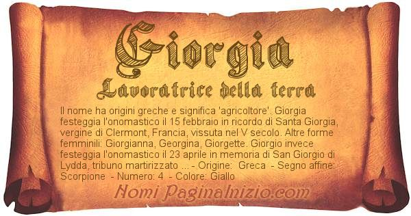 Pergamena col nome https://www.paginainizio.com/nomi/imgnomi/giorgia.jpg