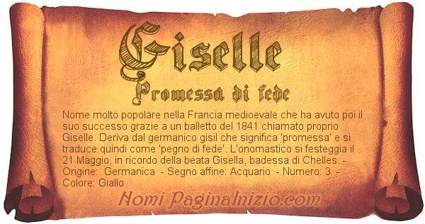 Nome Giselle