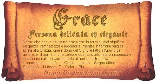 Nome Grace