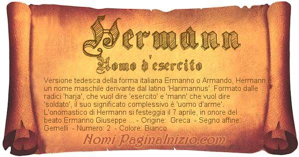 Nome Hermann
