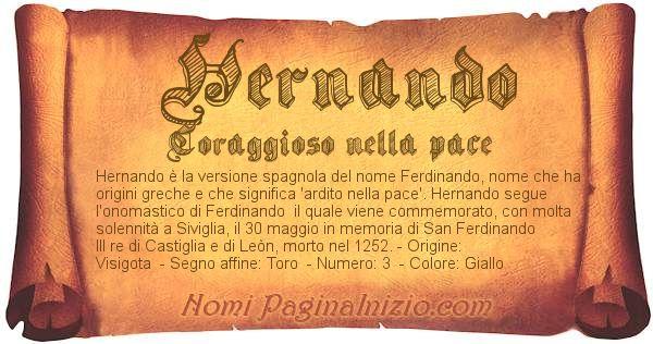 Nome Hernando