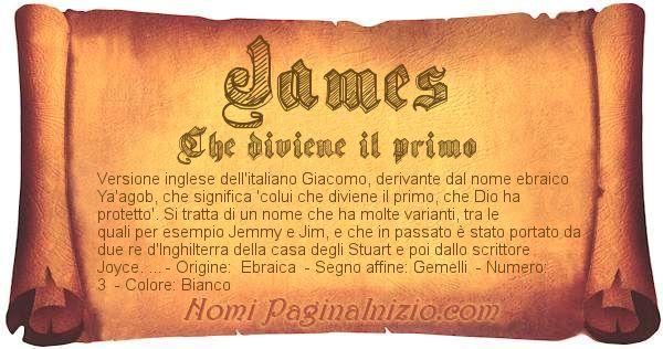 Nome James