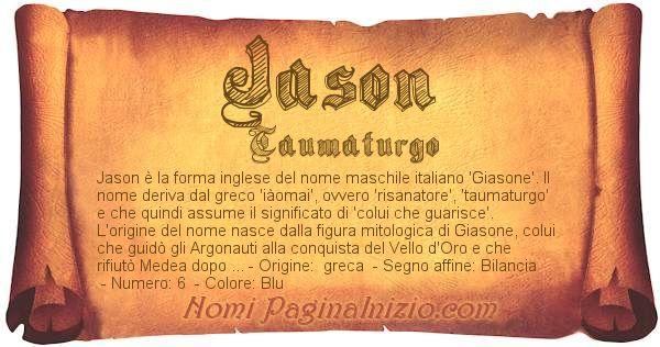 Nome Jason