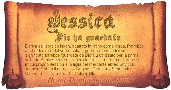 Nome Jessica