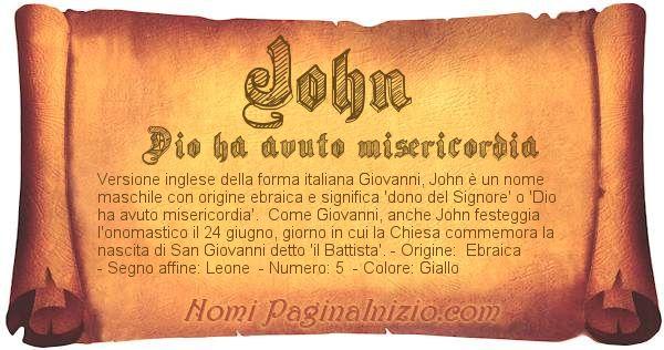 Nome John