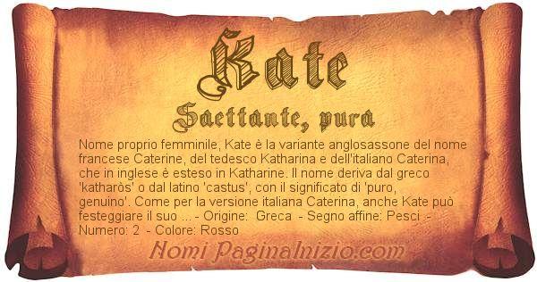 Nome Kate