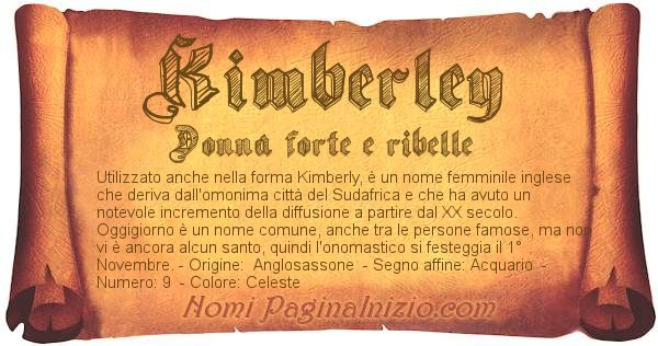 Nome Kimberley