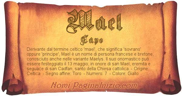 Nome Mael