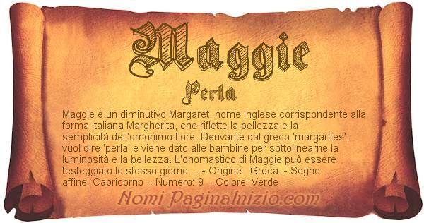 Nome Maggie