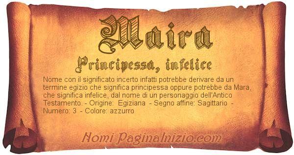 Nome Maira