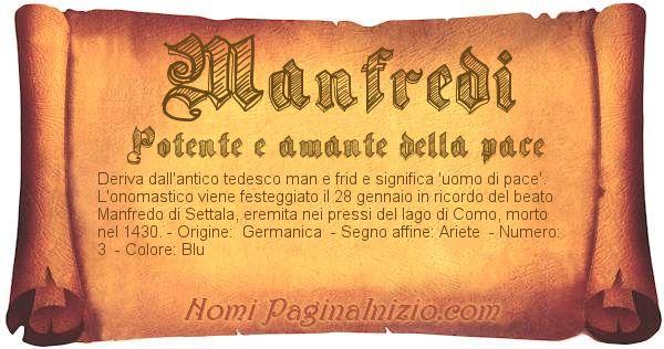 Nome Manfredi