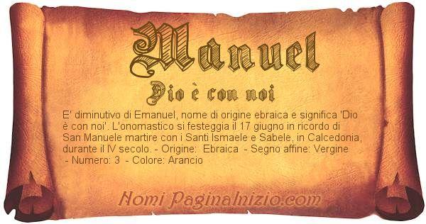 Nome Manuel