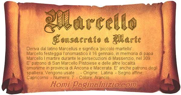 Nome Marcello