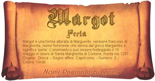 Nome Margot