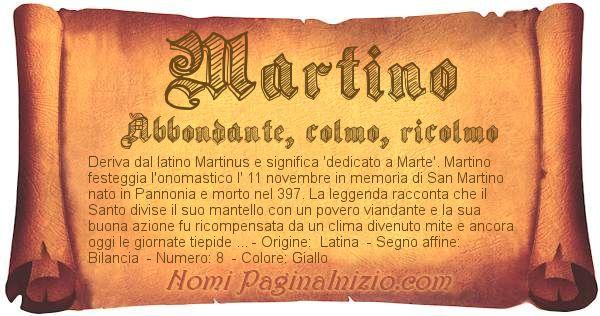 Nome Martino