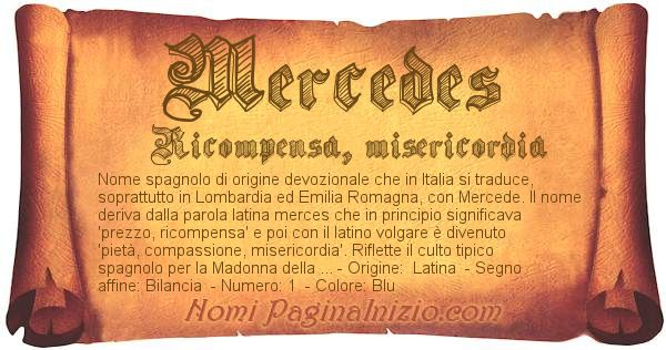 Nome Mercedes