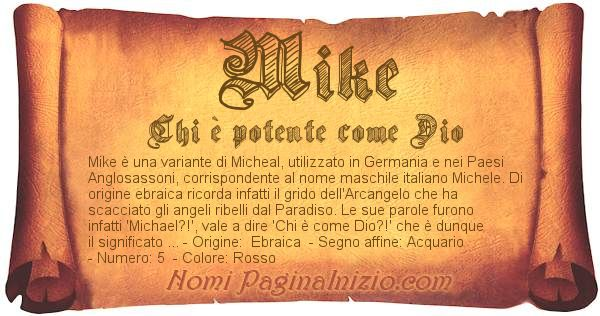 Nome Mike