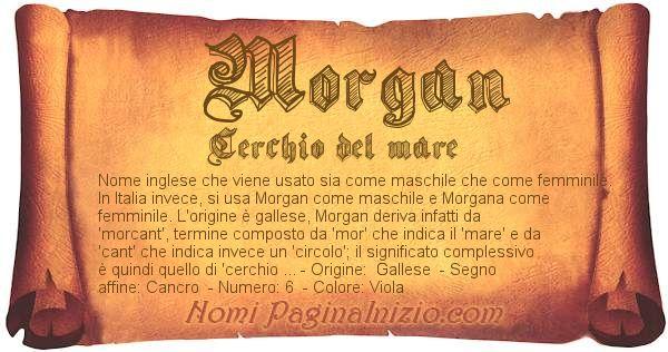 Nome Morgan