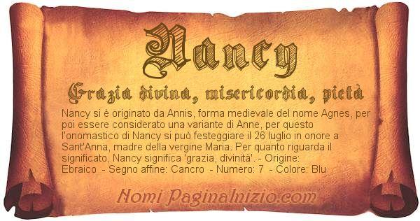 Nome Nancy