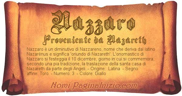 Nome Nazzaro