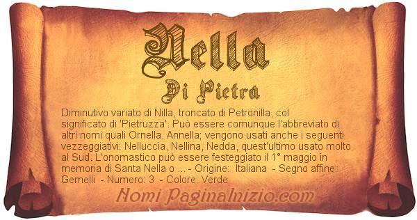 Nome Nella