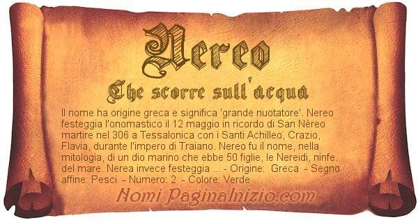 Nome Nereo
