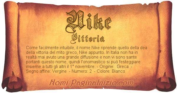 Nome Nike