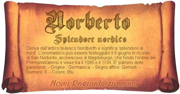 Nome Norberto