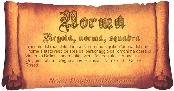 Nome Norma