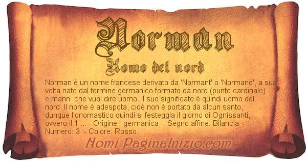 Nome Norman