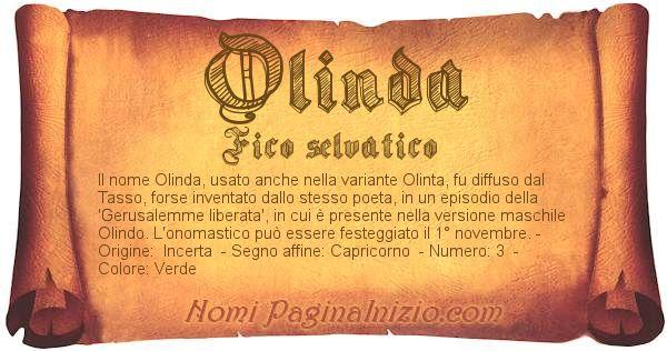 Nome Olinda