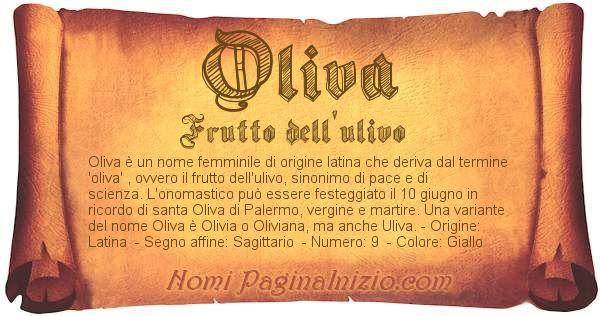 Nome Oliva