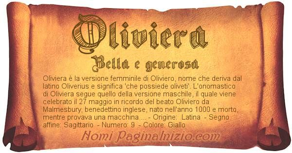 Nome Oliviera